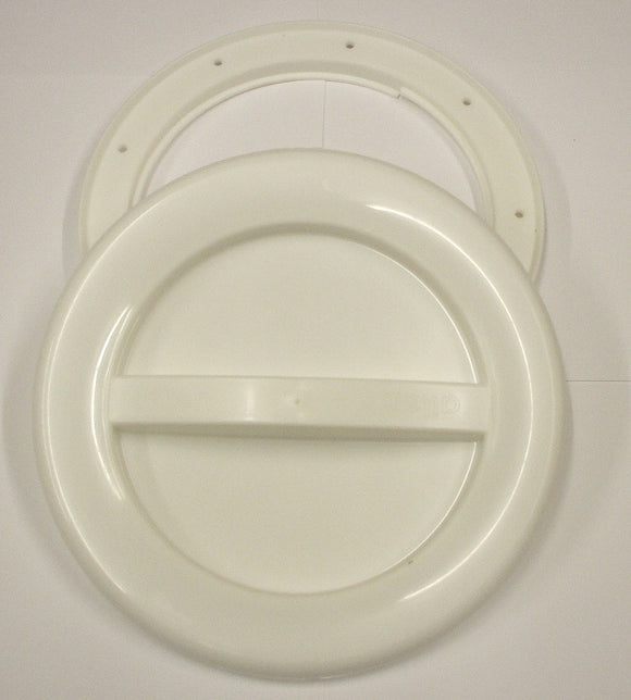 A537W - 145MM HATCH AND COVER - WHITE