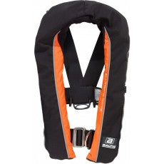 Baltic Winner 165 - Automatic Inflation with Harness, Black/Orange