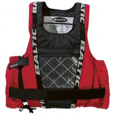 Baltic Dinghy Pro Buoyancy Vest - Red/Black | XS + S