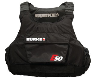 Burke E50 Buoyancy Vest - Black