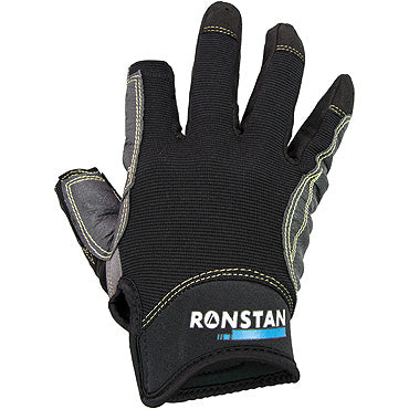 Ronstan Race Gloves - three finger sticky palm