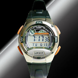 Casio Watch - Water Resistant - Large Display - Adjustable Countdown