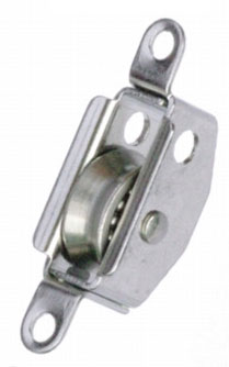 PYF470 - Exit Block S/Steel with 19mm x 6mm S/Steel sheave on S/Steel BB