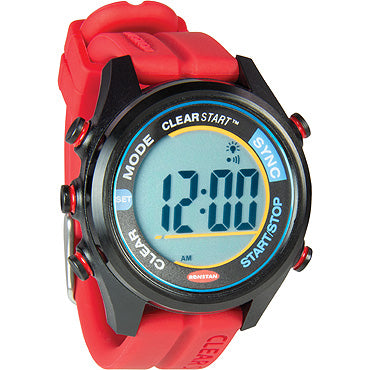 RF4054 40mm CLEARSTART SAILING WATCH - Red