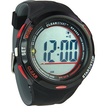 RF4055A CLEARSTART SAILING WATCH - Black
