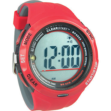 RF4055 CLEARSTART SAILING WATCH - Red