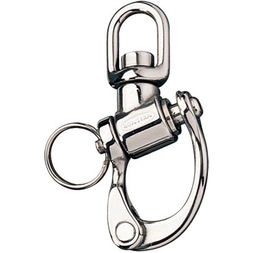 Ronstan Trunnion Snap Shackle RF6111 - 70mm - Small Swivel Bail