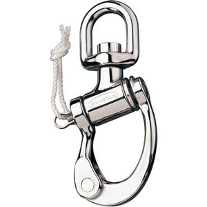 Ronstan Trunnion Snap Shackle RF6511 - 150mm - Small Swivel Bail