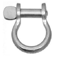 "RM21 - 3/16"" Bow Shackle Flat Pin"