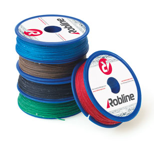Robline Waxed Whipping Twine - Black 80m