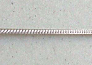 Ronstan 2.0mm 1X19 316 Stainless Steel Rigging Wire, per metre
