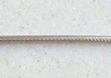 Ronstan 2.0mm 7X19 316 Stainless Steel Rigging Wire, per metre