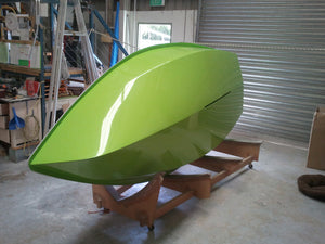 125 Bare Hull/Deck Assembly %