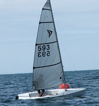 Impulse Dinghy Fully Fitted Ready to Rig and Race %