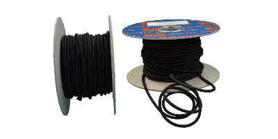 Shock Cord - 4mm Black, per metre