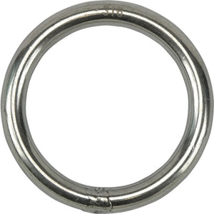Stainless Steel Round Ring - 5mm x 30mm