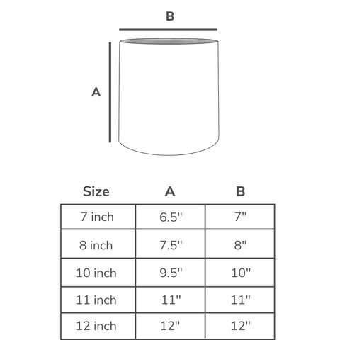 Ceramic Planter Dimensions