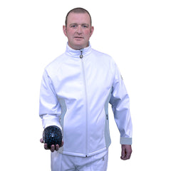 GENTS SOFT SHELL SPORTS JACKET - Blue or Grey Trim