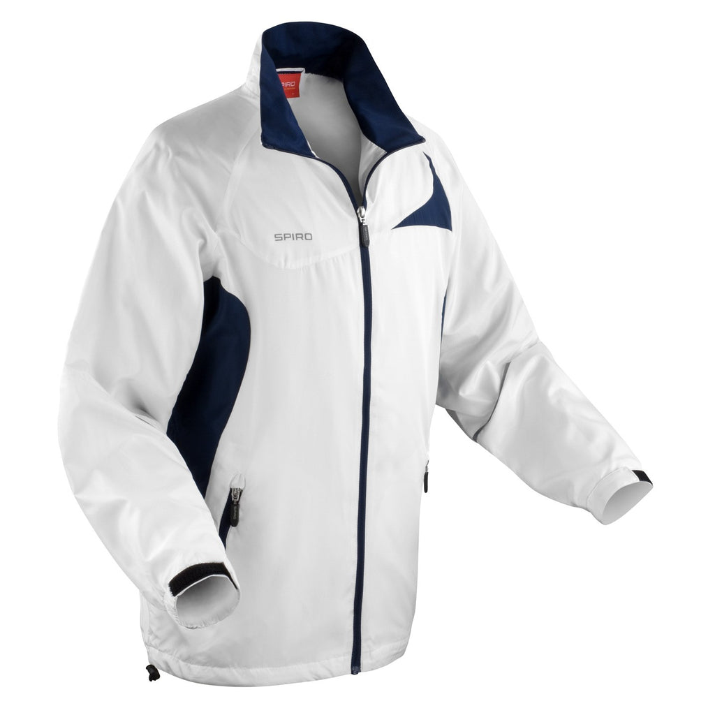 Uni-Sex Micro Lightweigh Team Sports Jacket (Red or Blue)