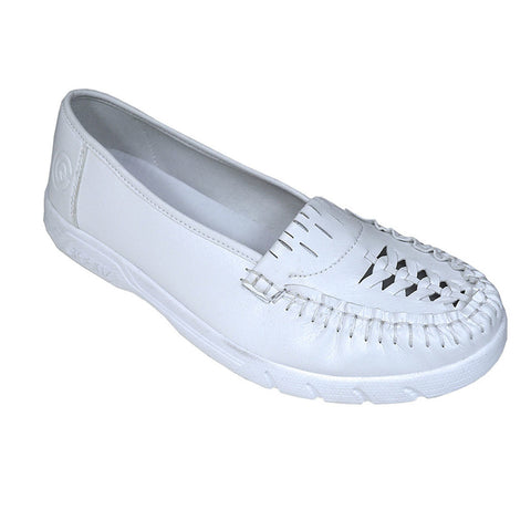 Taylor LADIE'S VICKI II WHITE GREENZ SHOES