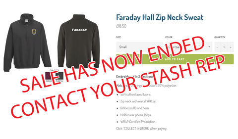 Faraday Zipped Sweat - END OF SALE