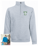 Telford 'T' Zip Neck Sweat
