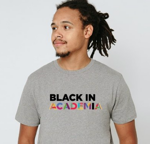 Black in Academia T Shirt