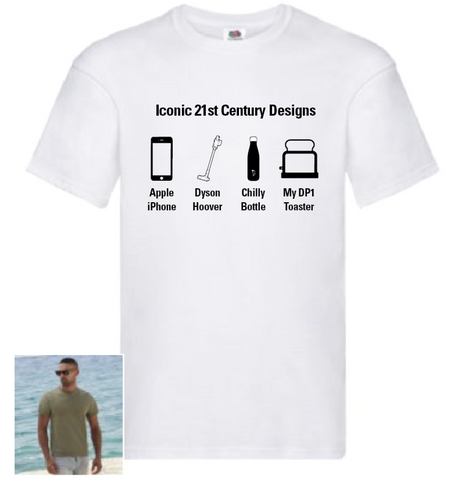 Design School 'Iconic Designs' T shirt