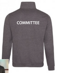 Committee Design School Zip Neck Sweat