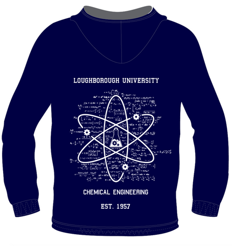 Chem Eng Printed & Embroidered Hoody