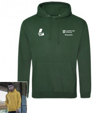 Geography Hoody - WITH Back Print