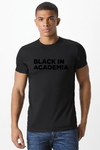 Black in Academia 'Black Print' T Shirt