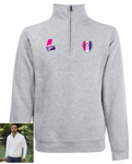 SSEHS Zip Neck Sweat