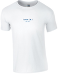 Towers Small Print 'Shadow' T Shirt