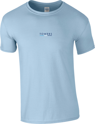 Towers Small Logo Embroidered T Shirt