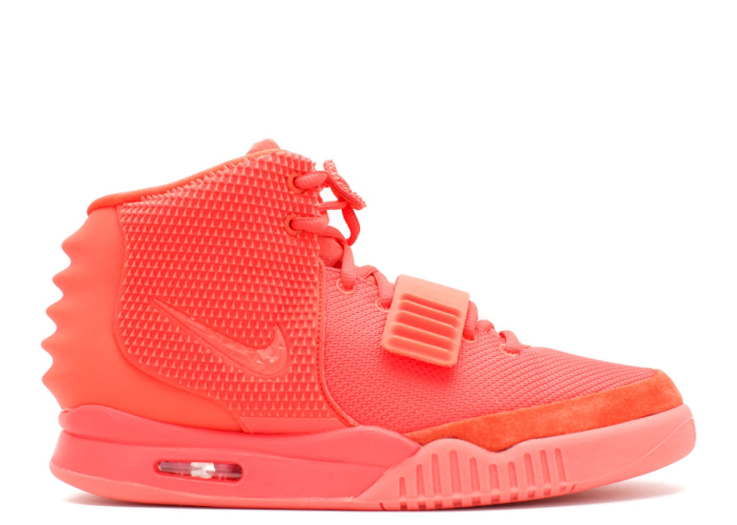 Red October Yeezy air 2