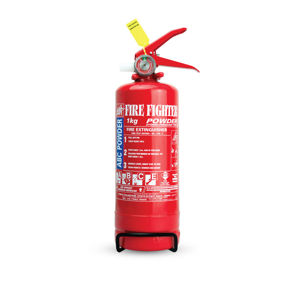 1KG ABC Dry Powder Fire Extinguisher (Puspakom, Bomba & Sirim Approved)