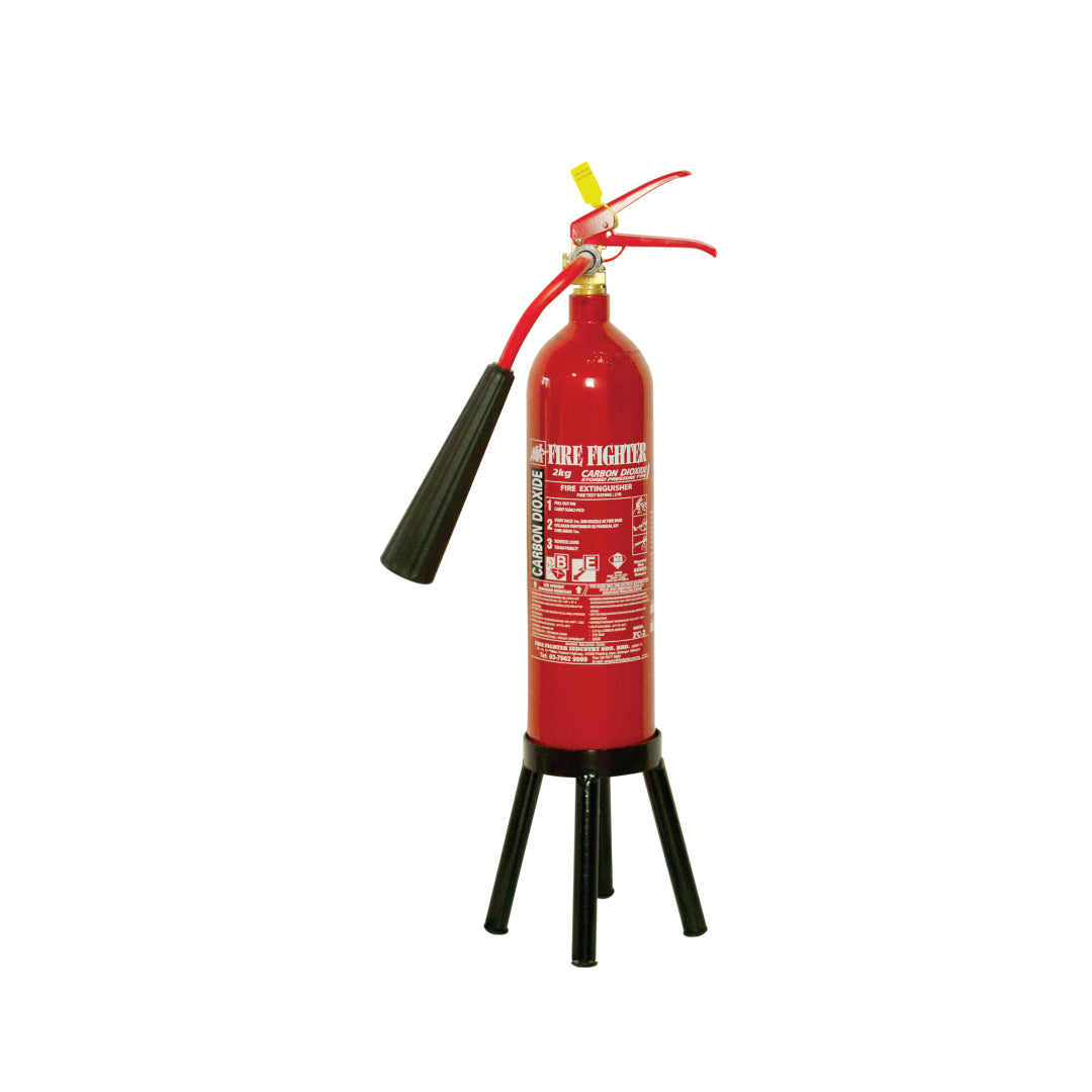 2KG CO2 Gas Fire Extinguisher Stand (ONLINE ONLY PRICE)