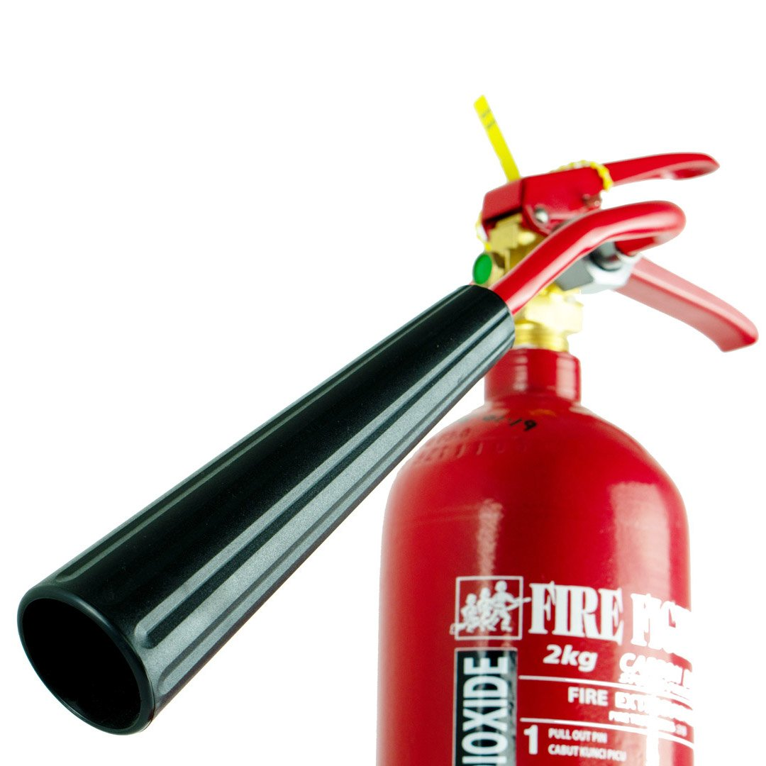 2KG Carbon Dioxide (CO2) Fire Extinguisher (BOMBA LICENSE INCLUDED)