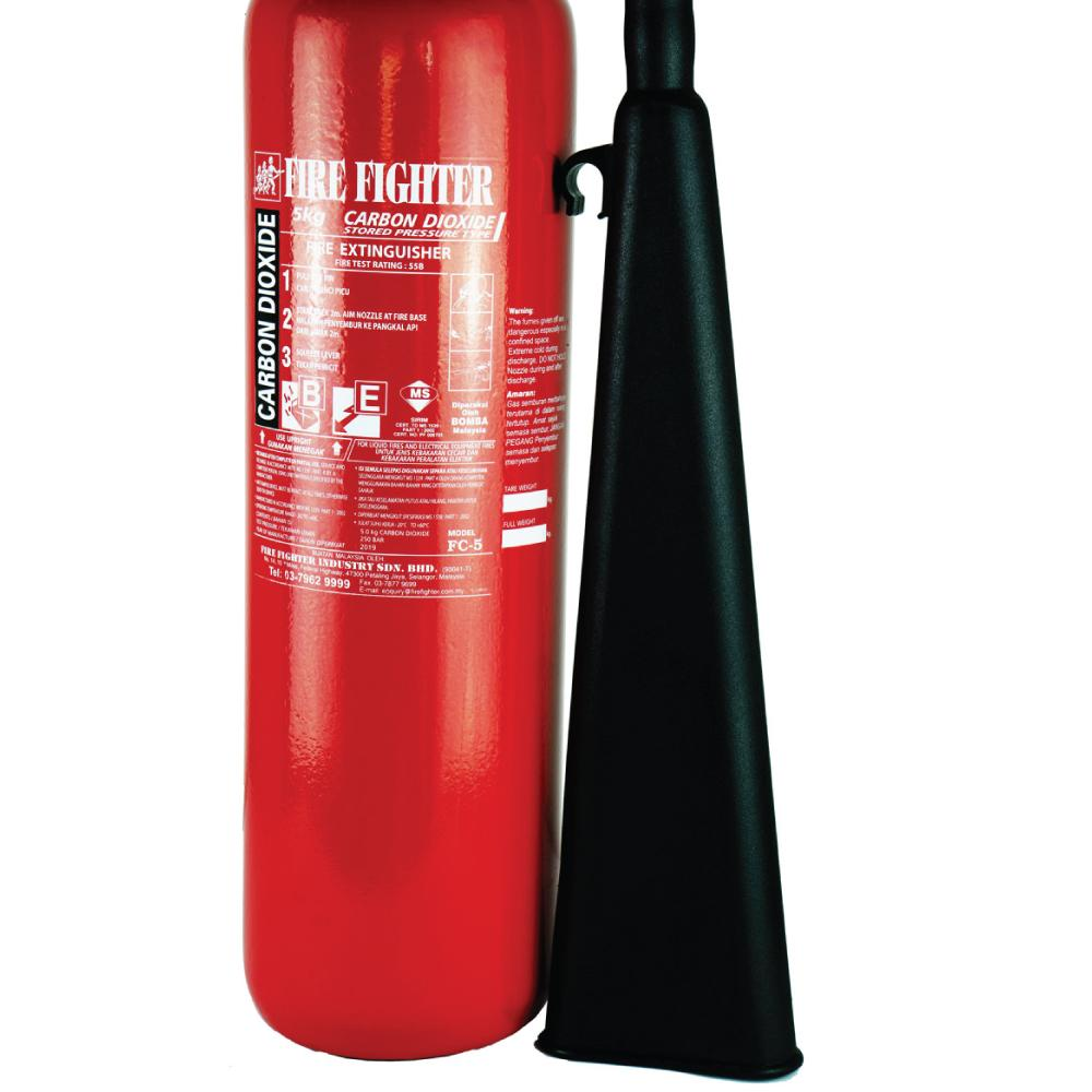 5KG Carbon Dioxide (CO2) Fire Extinguisher