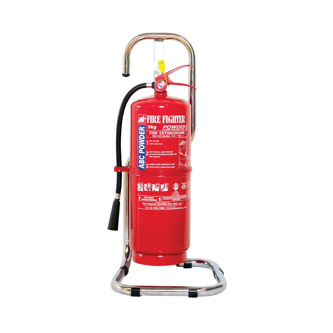 9KG Chrome Fire Extinguisher Stand (ONLINE ONLY PRICE)