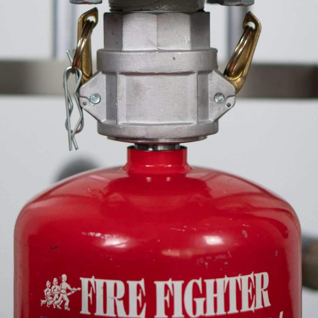 Fire Fighter Dry Powder Refilling Machine V9