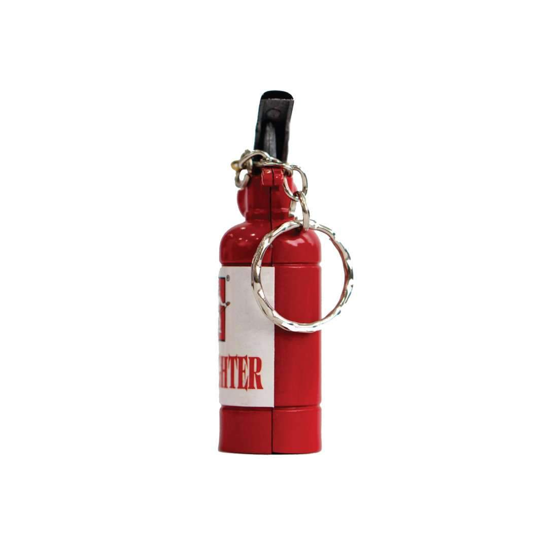 Mini Fire Extinguisher Keychain Lighter Fire Fighter