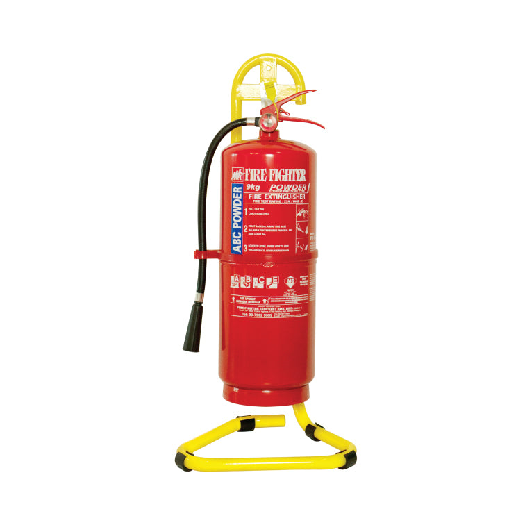 Fire Extinguisher Stand (Yellow)