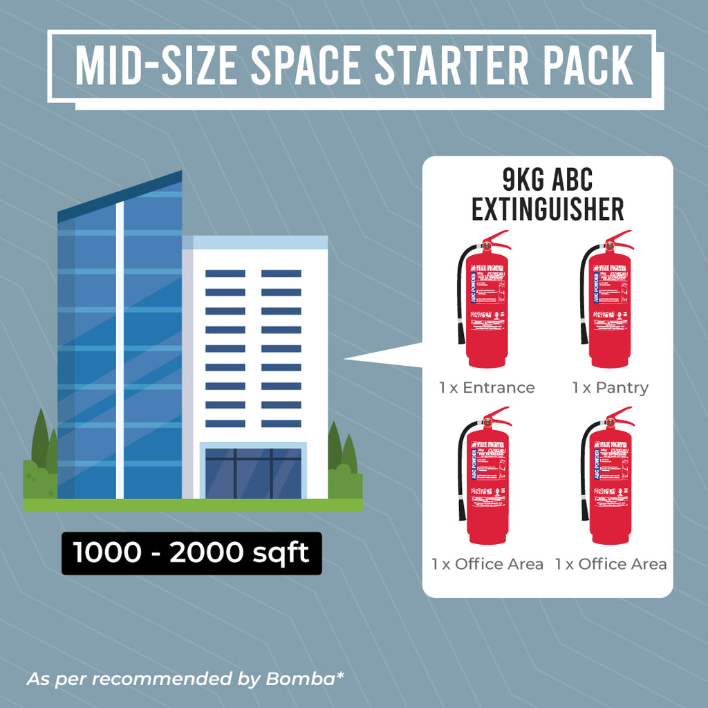 Mid-Size Space Starter Pack (BOMBA LICENSE INCLUDED)