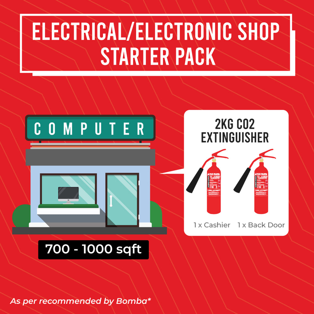Electrical/Electronic Shop Starter Pack (BOMBA LICENSE INCLUDED)