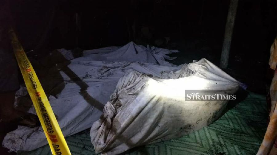 Four members of the family burn to death in Betong fire