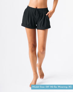 ZYIA Summer Shorts in Black