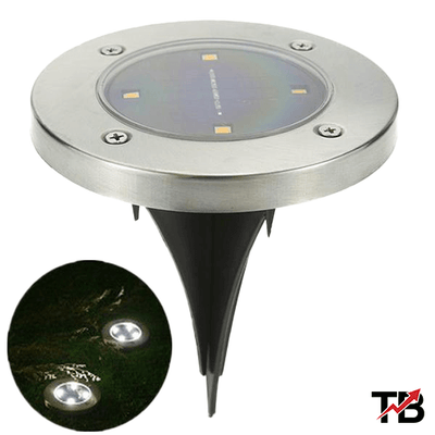 Solar Ground Lights (4-pack) - TrendingBug.com