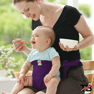 Safety Sack n Seat™ Baby High Chair Harness - TrendingBug.com